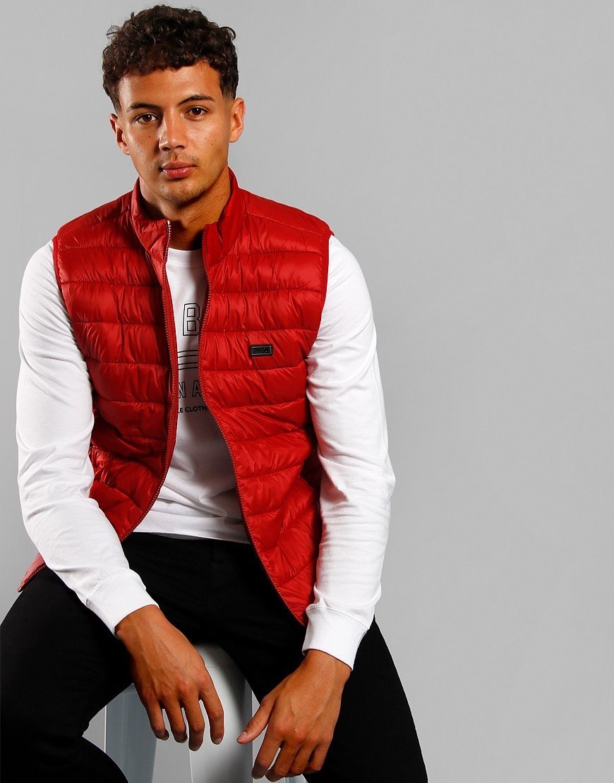 Barbour International Reed Gilet Flame Red