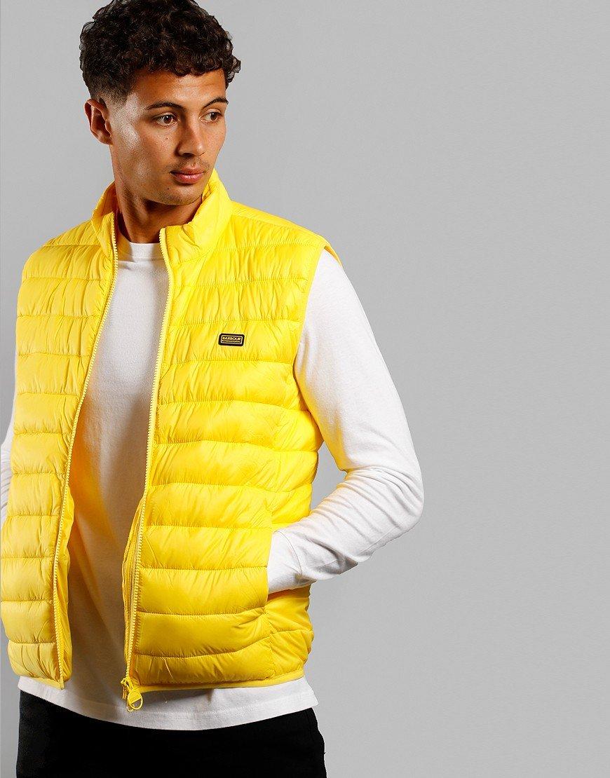 Barbour International Reed Gilet Yellow