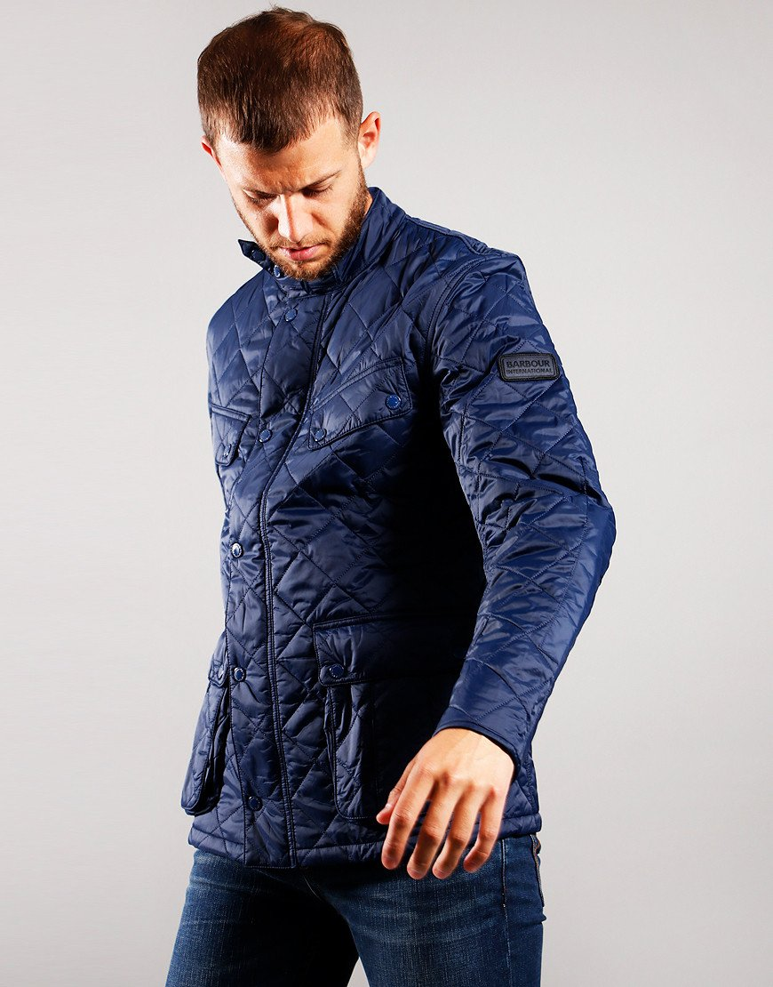Barbour International S Touch Ariel Jacket Navy