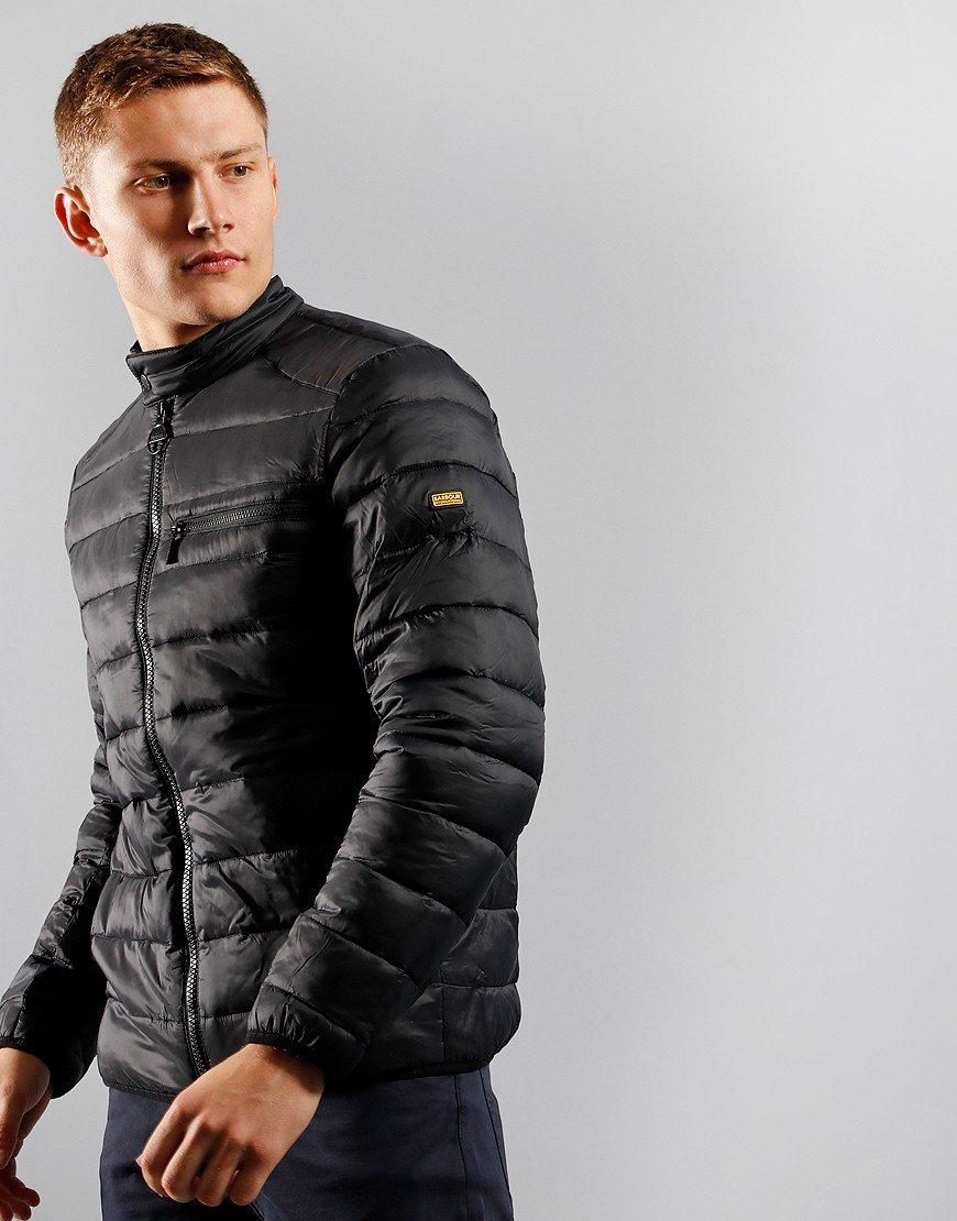 Barbour International Seasons Baffle Padded Jacket Black