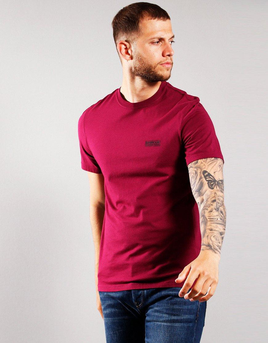 Barbour International Small Logo T-Shirt Berry