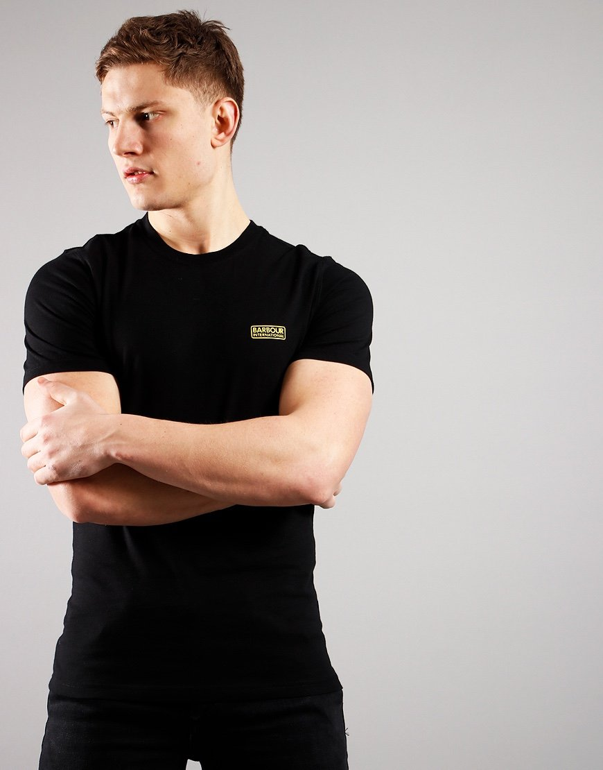 Barbour International Small Logo T-Shirt  Black