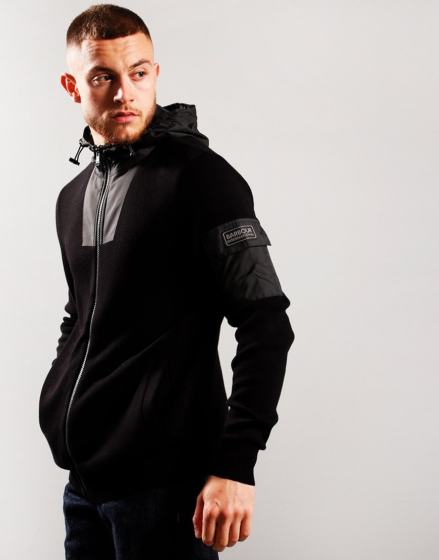 Barbour International Swift Hood Jacket Black