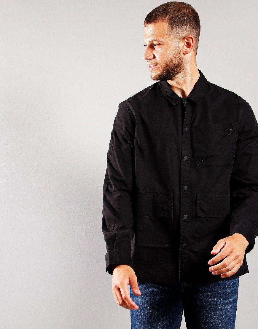 Barbour International Tech Overshirt Black