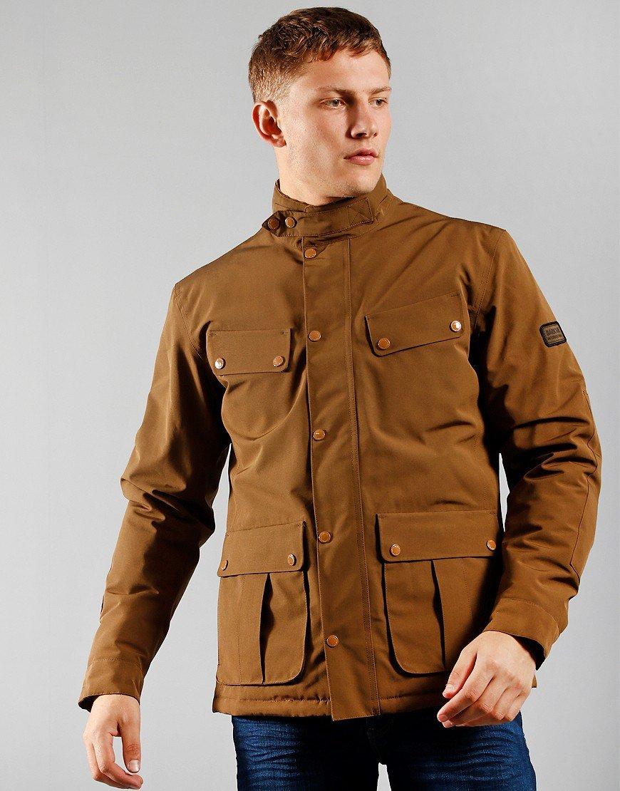 Barbour International Duke Waterproof Jacket Sand