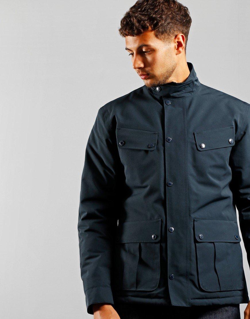 Barbour International Duke Waterproof Jacket Navy