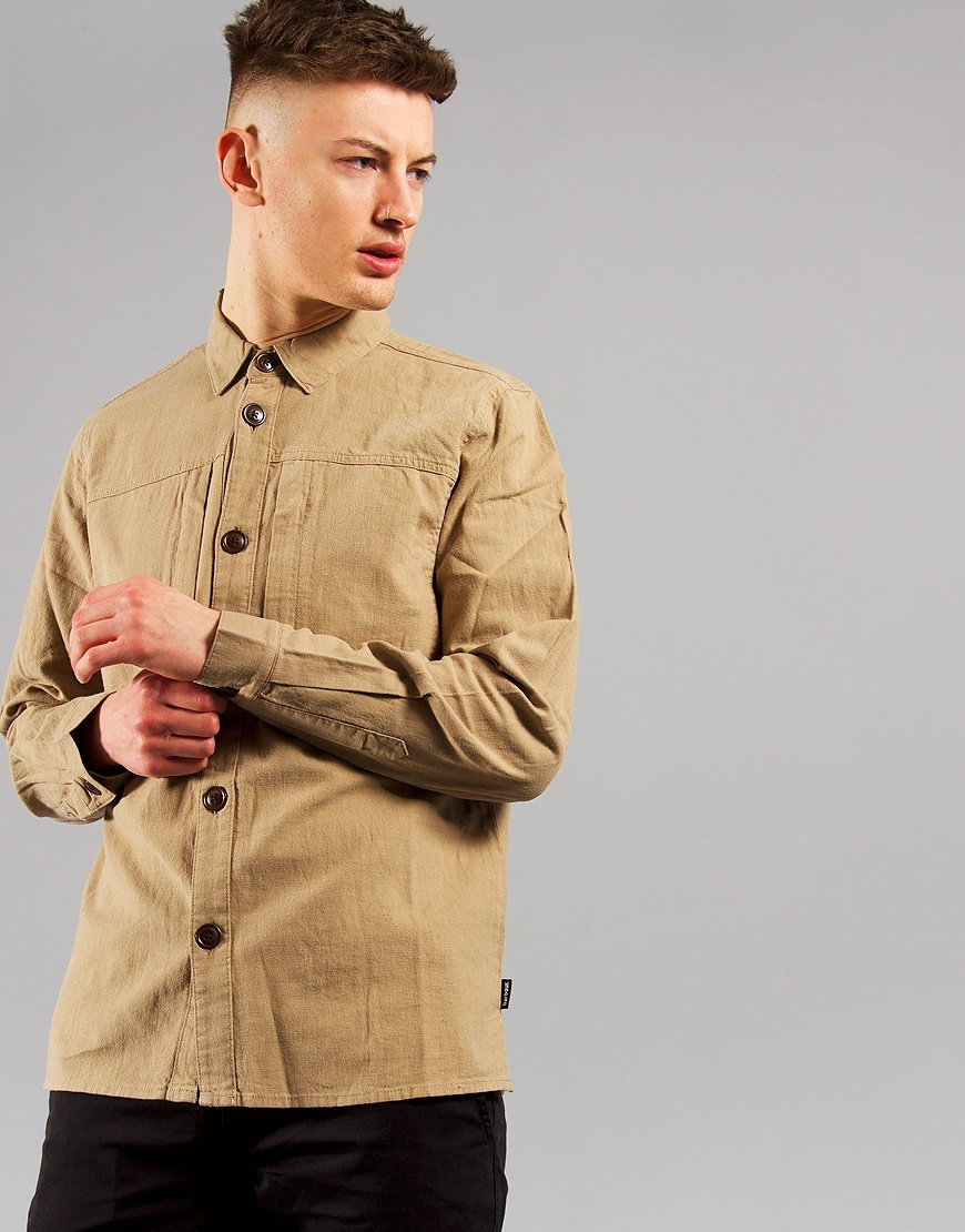 Barbour Kilda Overshirt  Stone