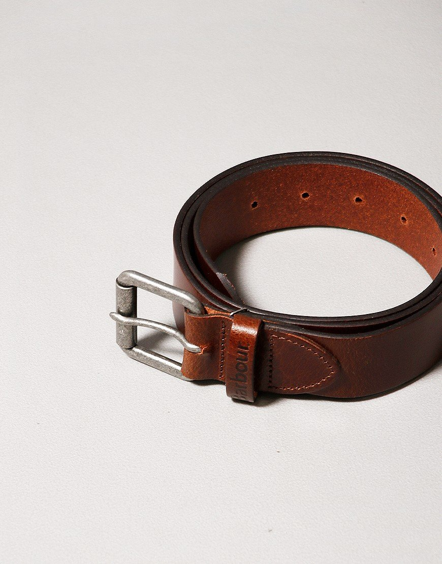 Barbour Allaton Leather Belt Tan