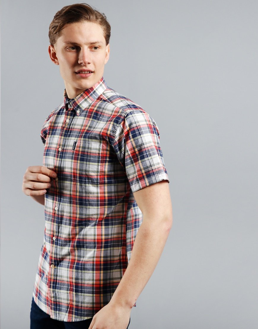 Barbour Madras 5 Shirt Pink