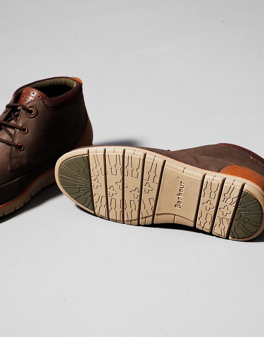 Barbour Nelson Chukka Boots Brown