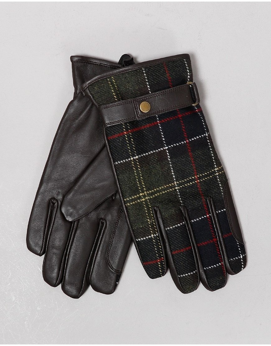 Barbour Newbrough Tartan Gloves Classic Tartan