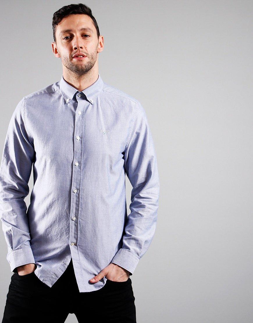 Barbour Oxford 3 Long Sleeve Shirt Indigo