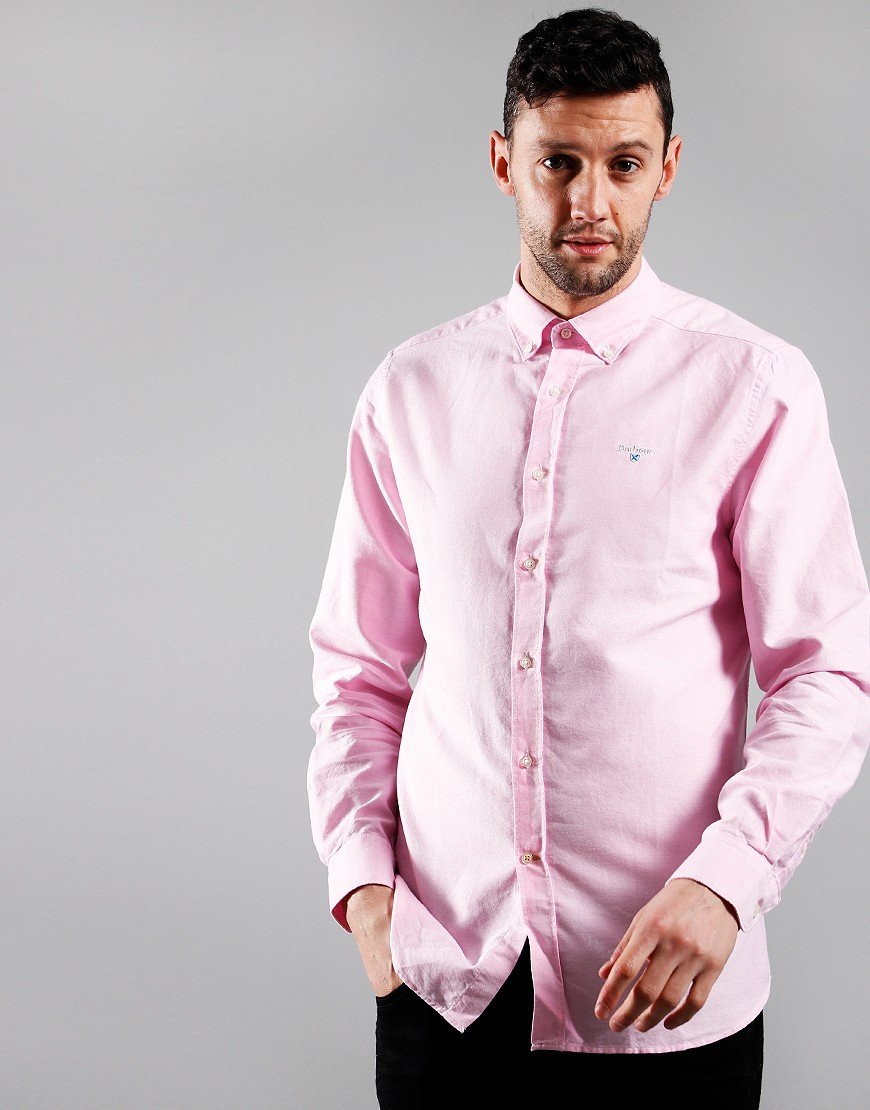 Barbour Oxford 3 Long Sleeve Shirt Pink