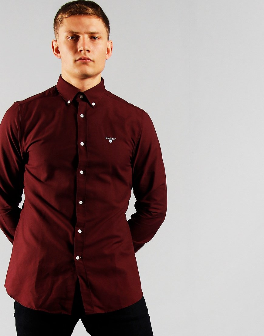 Barbour Oxford 3 Shirt Merlot
