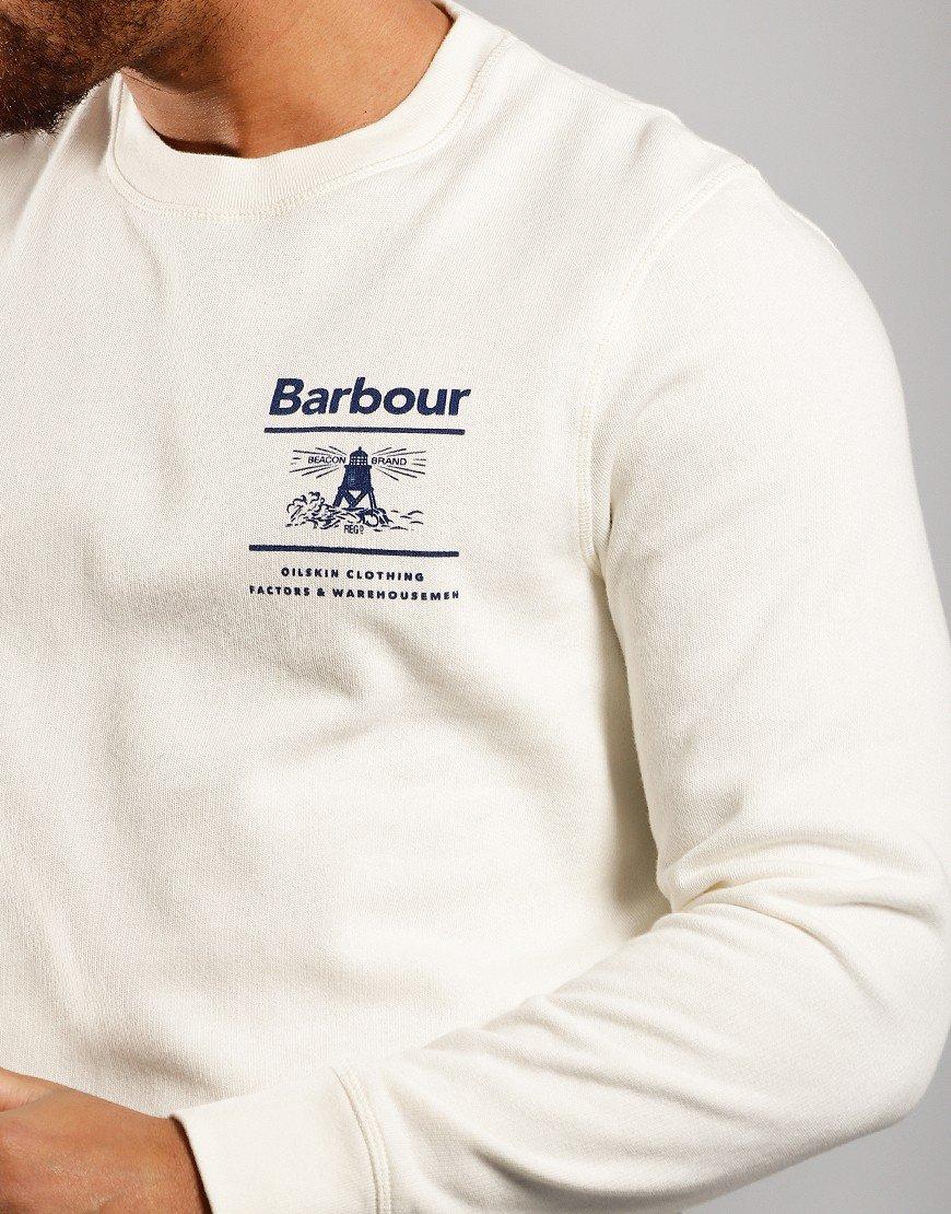 Barbour Reed Crew Sweat Ecru