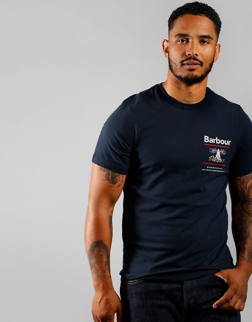Barbour Reed T-Shirt Navy