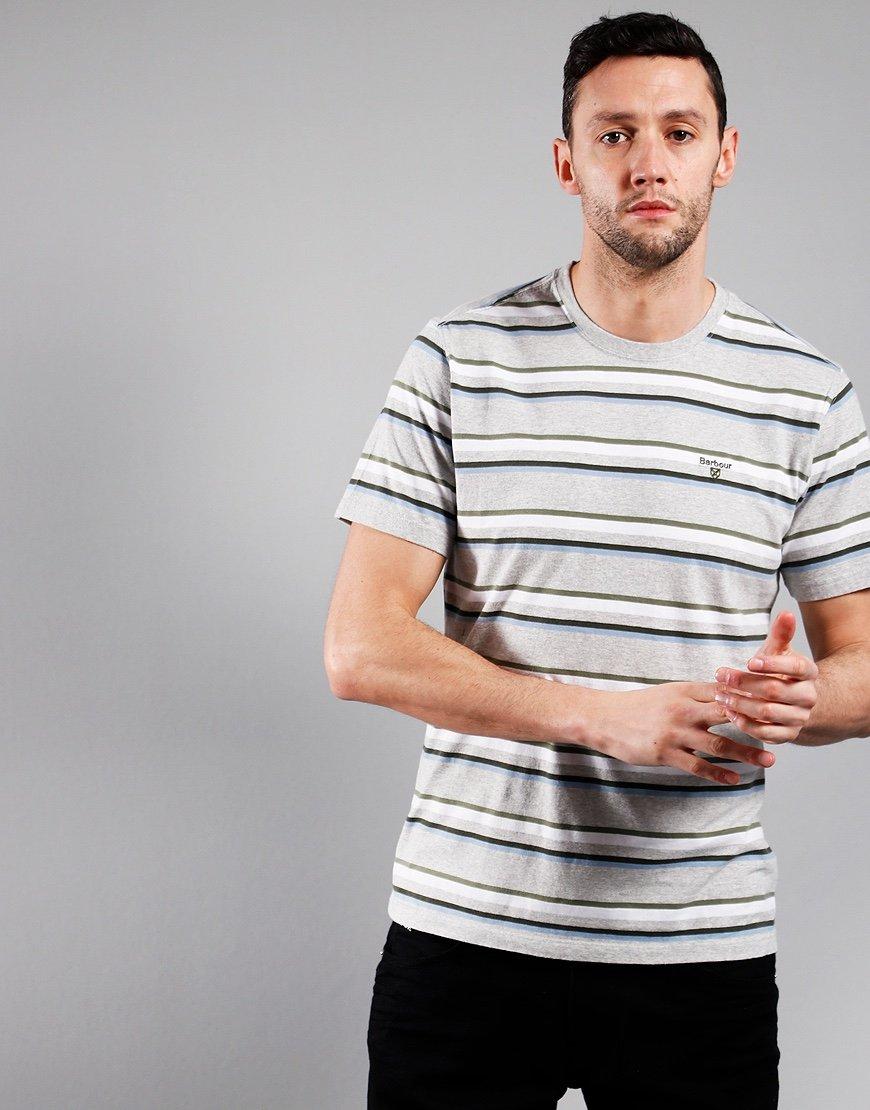Barbour River T-Shirt Grey Marl