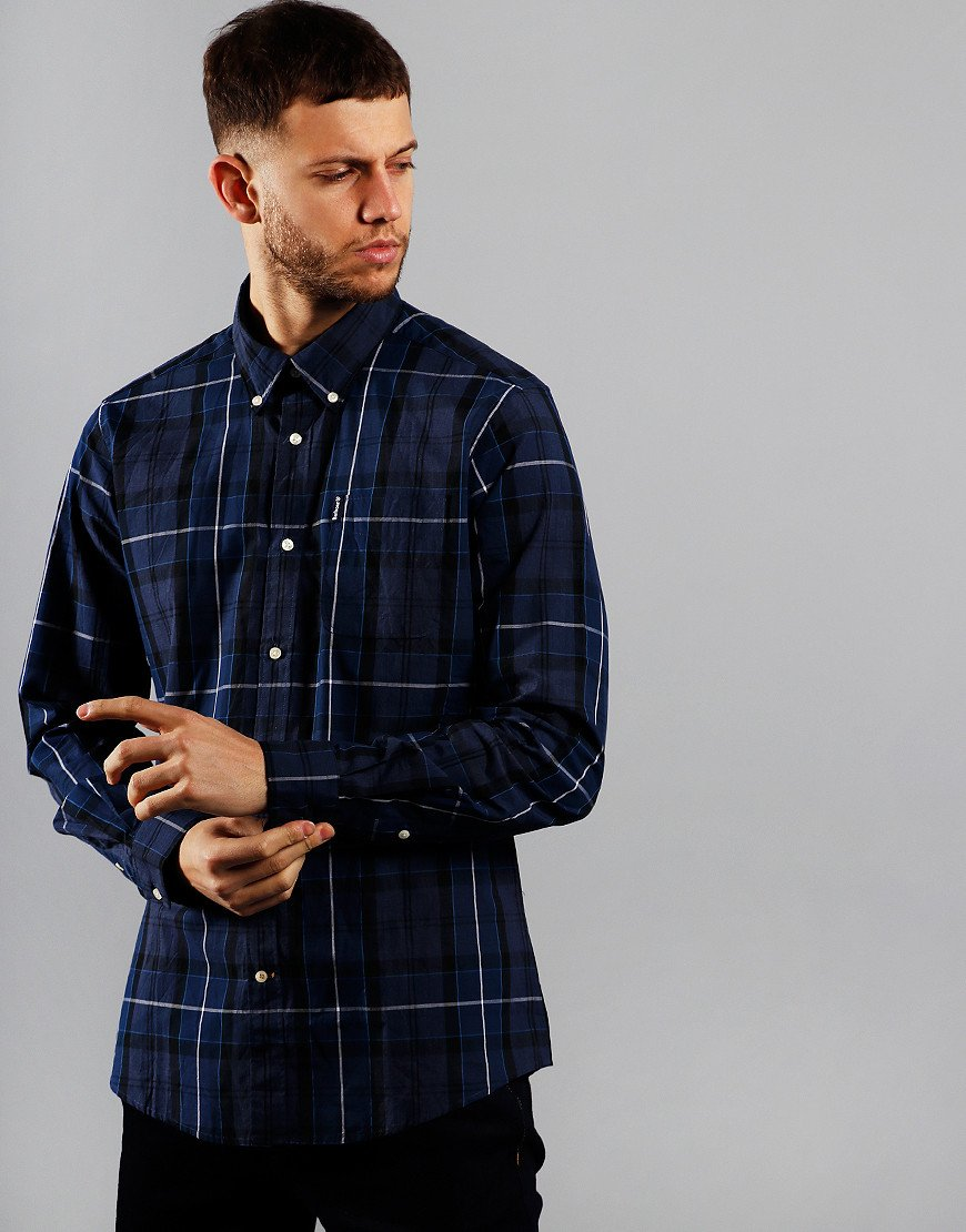 Barbour Sandwood Long Sleeve Shirt Inky Blue