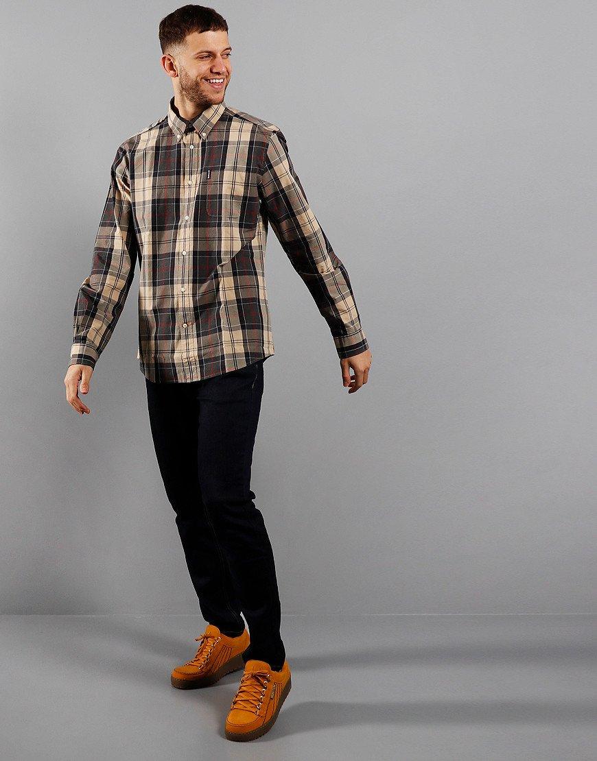Barbour Sandwood Long Sleeve Shirt Stone