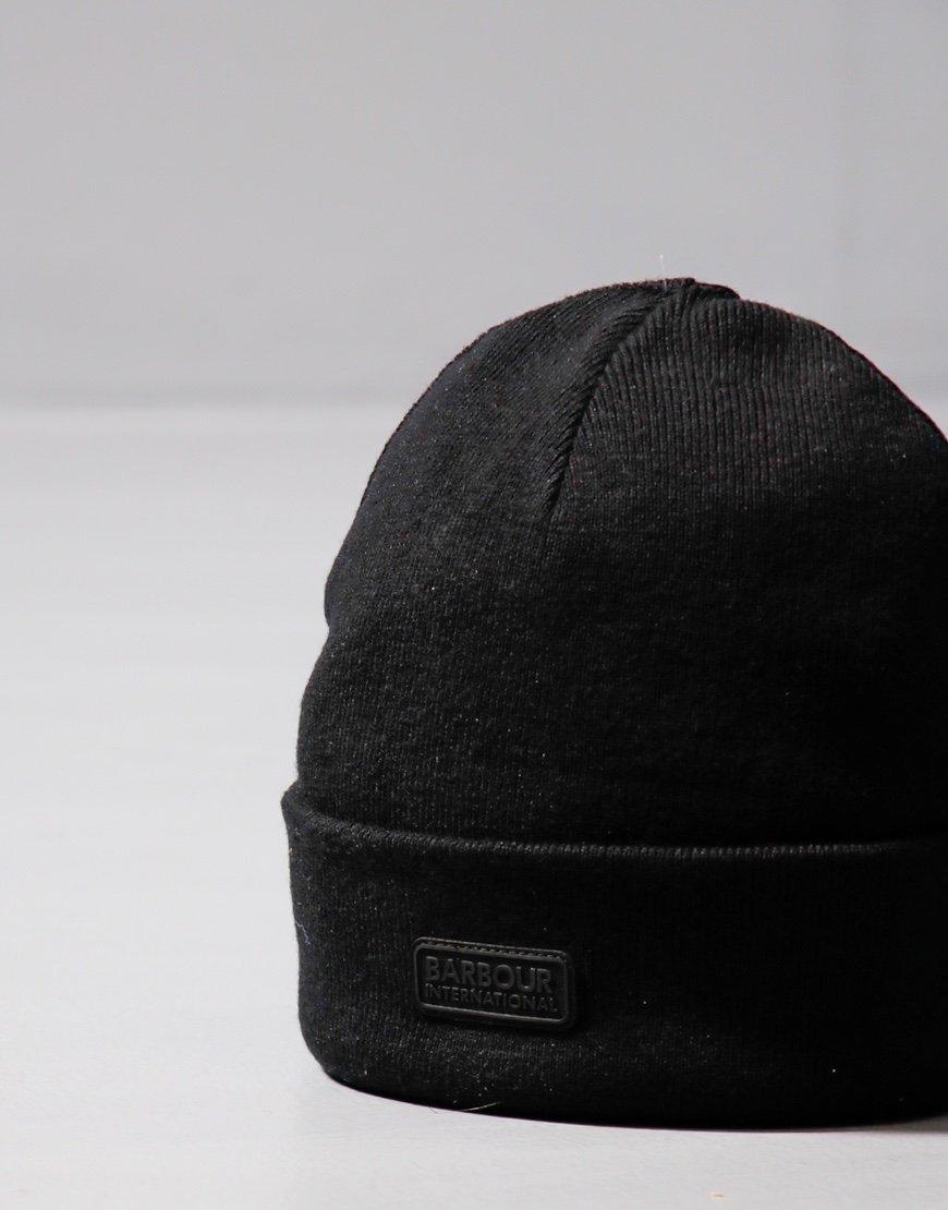 Barbour International Sensor Beanie Hat Black