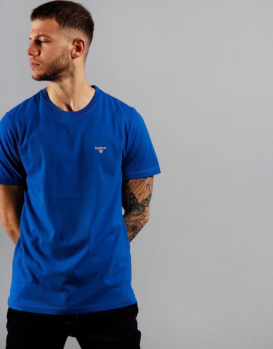 Barbour Sports T-Shirt  Fresh Blue
