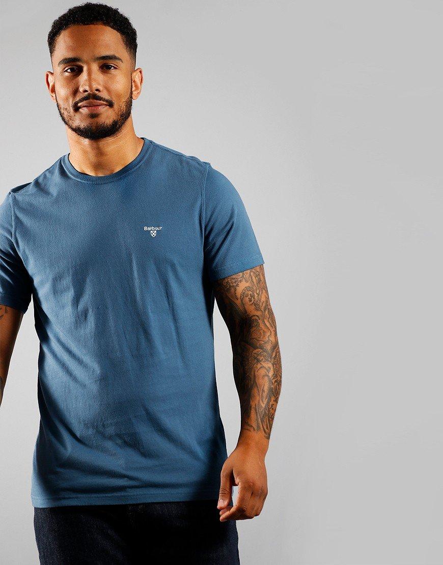 Barbour Sports T-Shirt Dark Denim