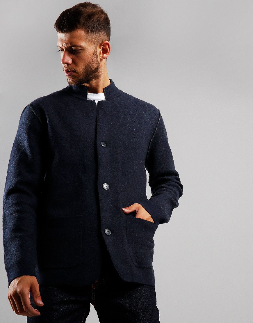 Barbour Sudeley Knitted Blazer Navy