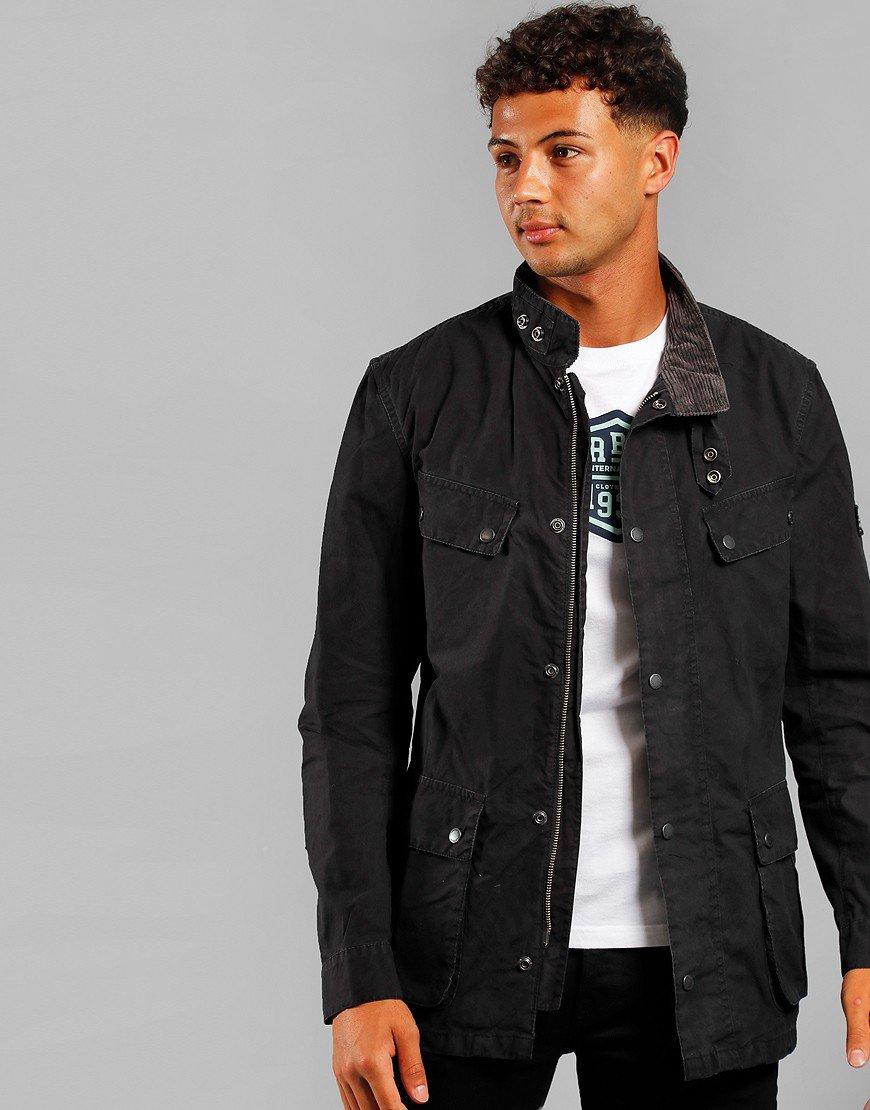 Barbour International Summer Wash Duke Jacket Black