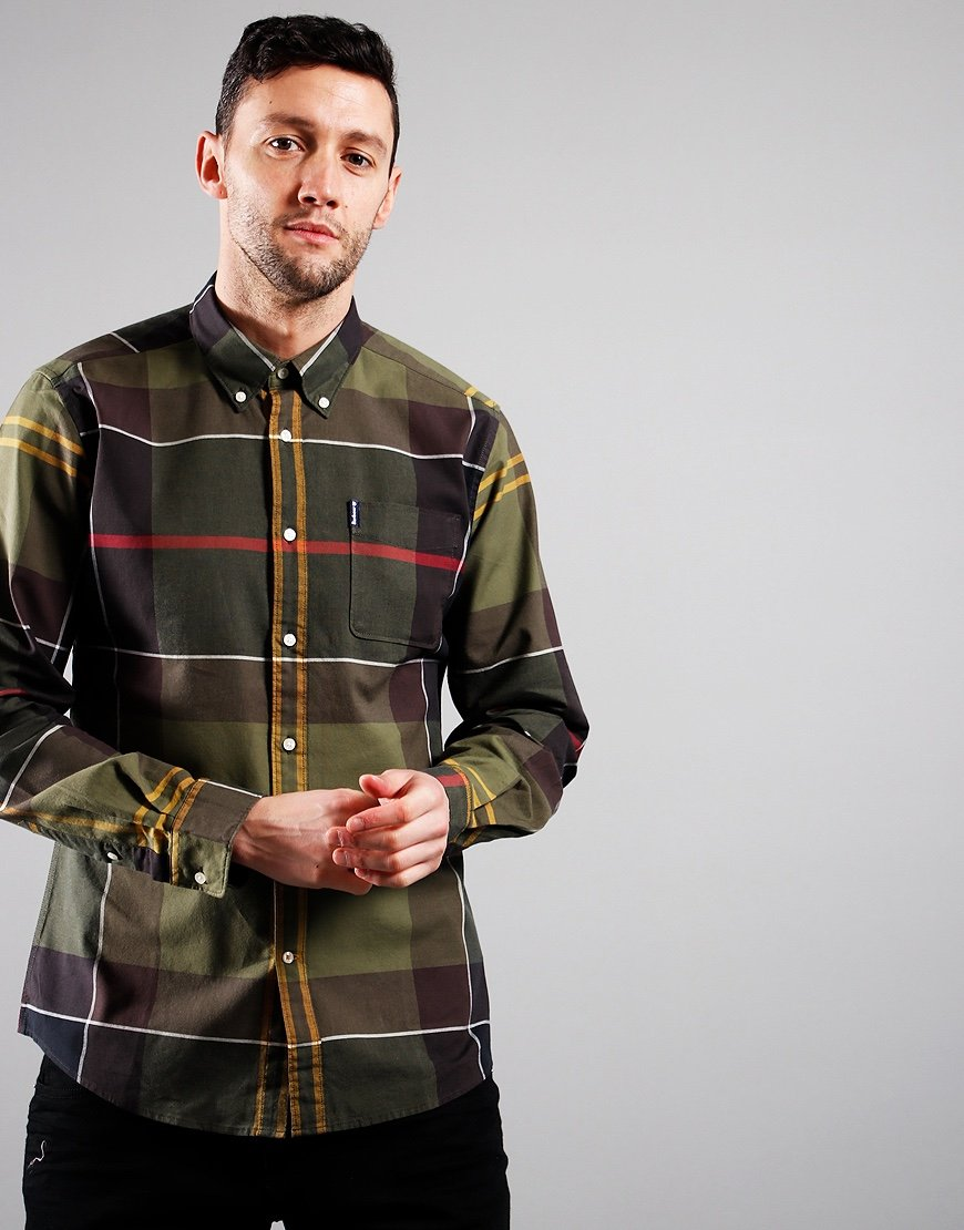 Barbour Sutherland Long Sleeved Shirt Classic Tartan