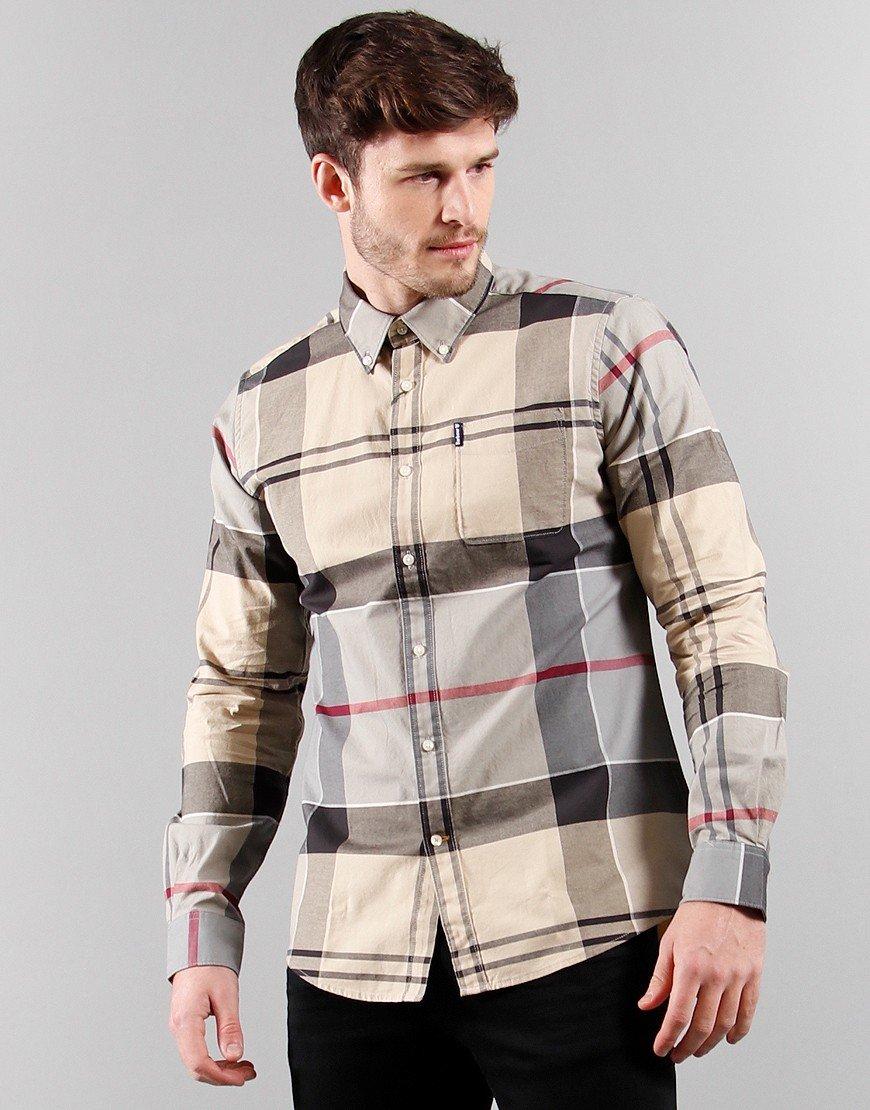 Barbour Sutherland Long Sleeved Shirt Dress Tartan