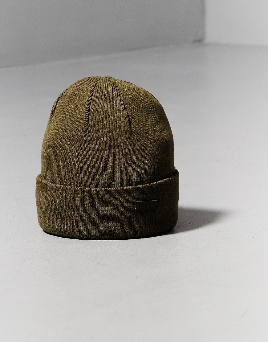 Barbour Swinton Beanie Hat Olive