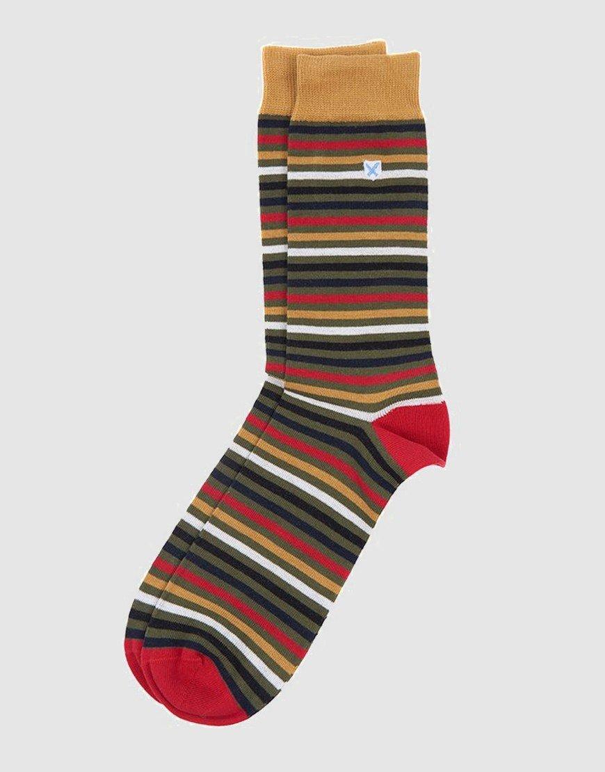 Barbour Tartan Stripe Socks Classic