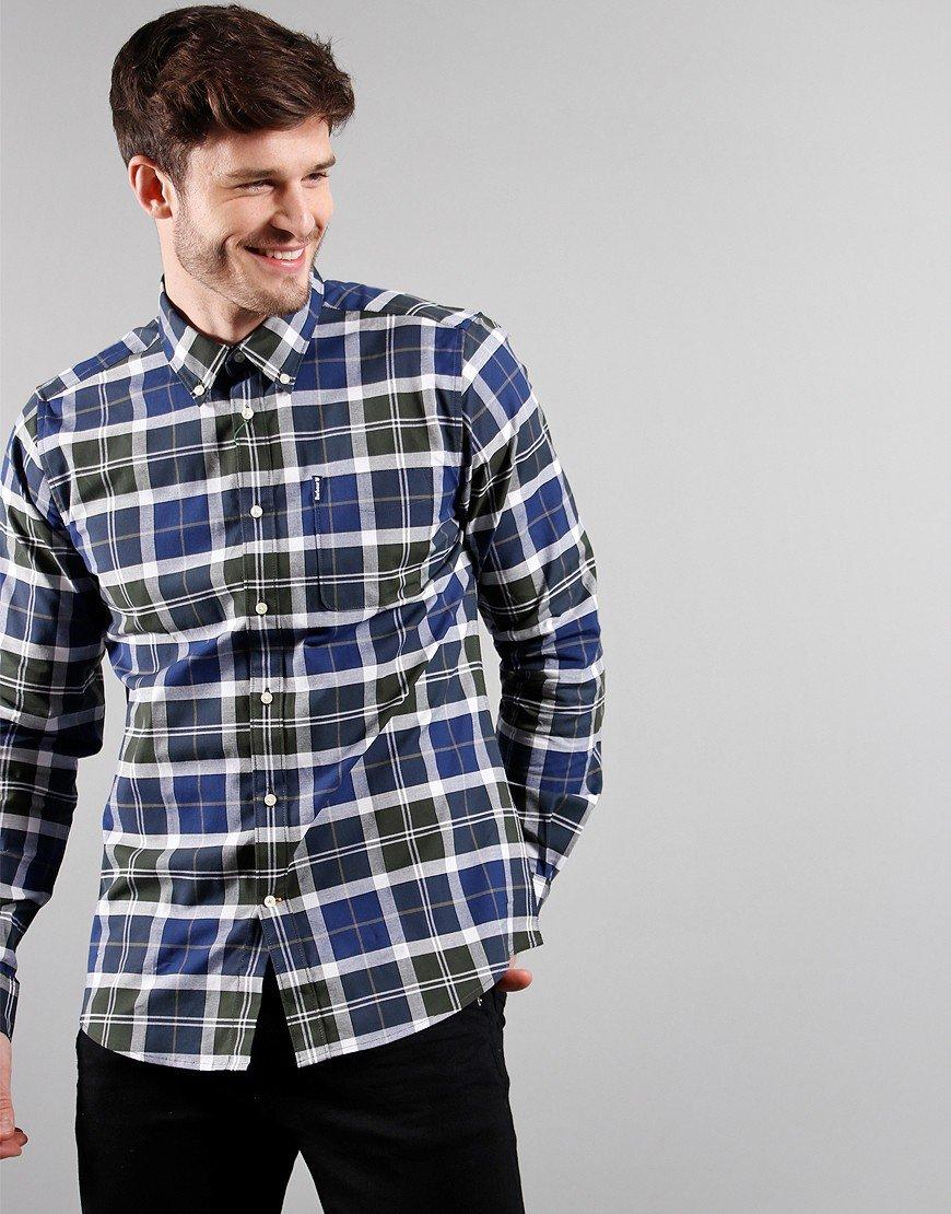 Barbour Long Sleeve Tartan 11 Tailored Shirt Sage