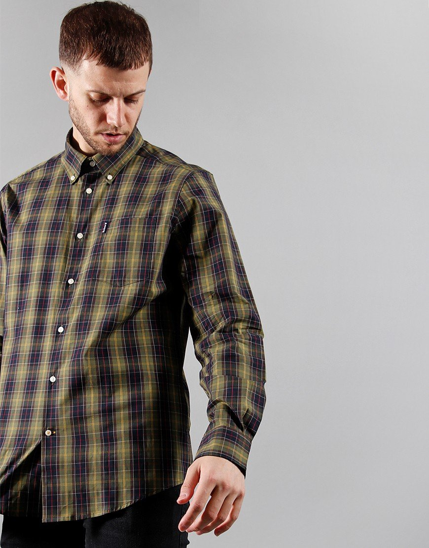 Barbour Tartan 17 Tailored Shirt Classic Tartan