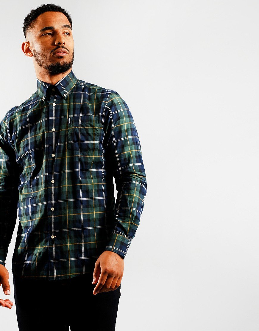 Barbour Long Sleeve Tartan 6 Shirt Seaweed