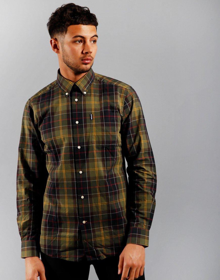 Barbour Tartan 7 Long Sleeve Shirt Classic Tartan