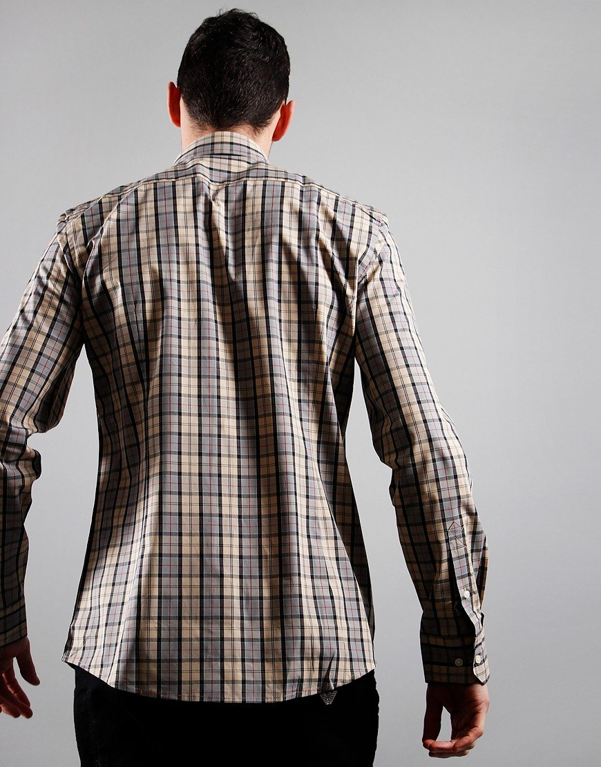 Barbour Tartan 7 Long Sleeve Shirt Dress Tartan