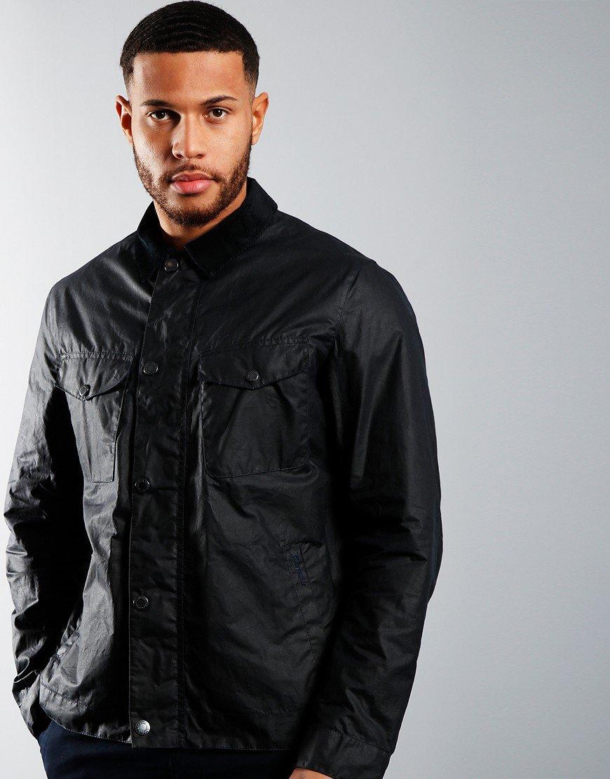 Barbour Trello Wax Jacket Navy