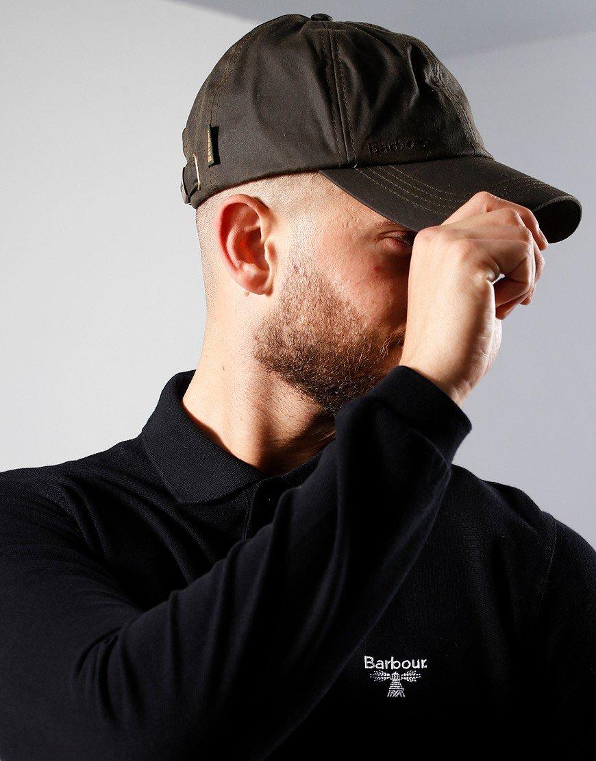 Barbour Wax Sport Cap Olive