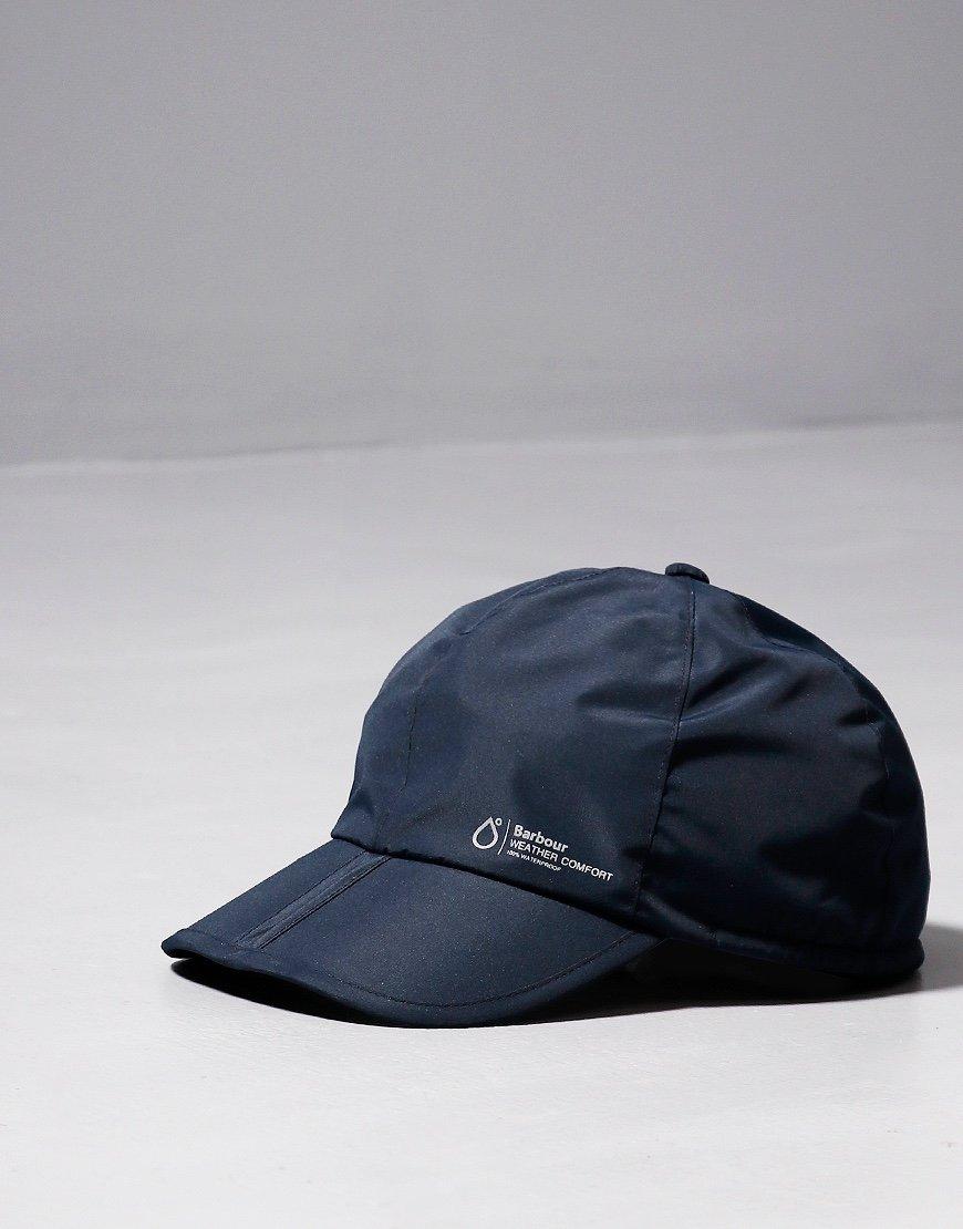 Barbour Weather Comfort Cap Navy
