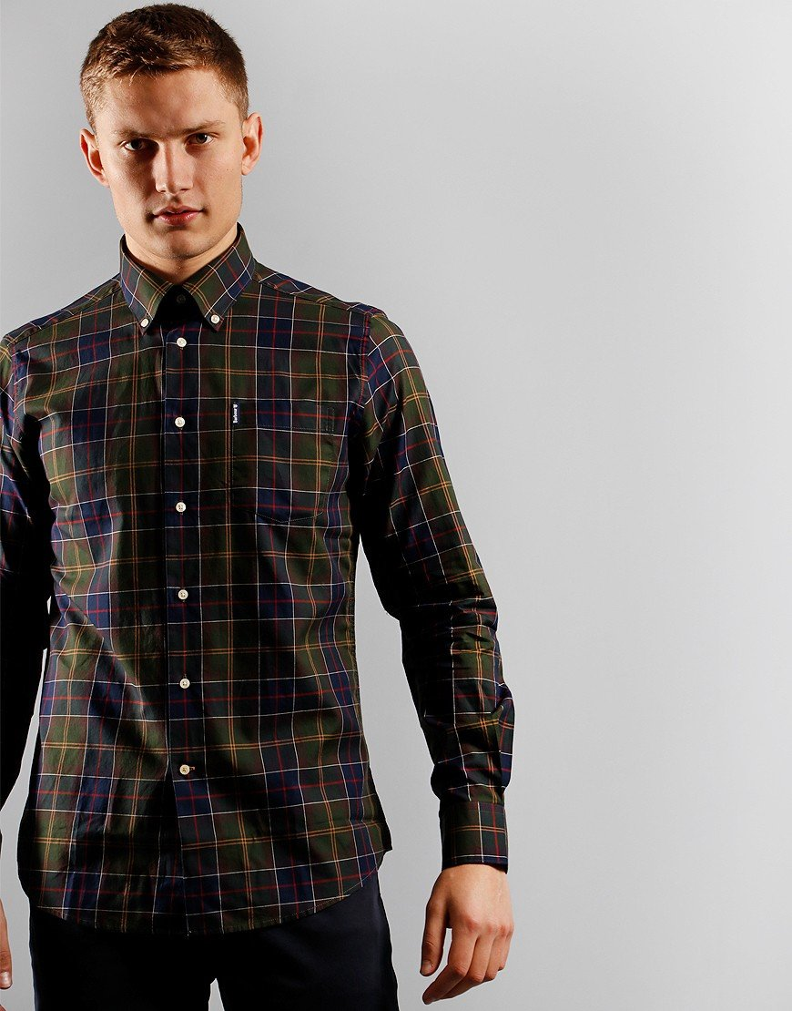 Barbour Wetherham Long Sleeved Shirt Classic Tartan