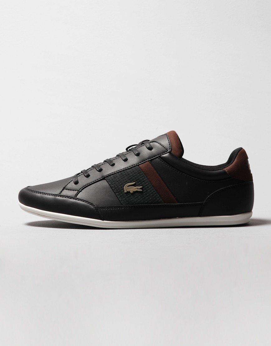Lacoste Chaymon 120 Trainers Black/Brown