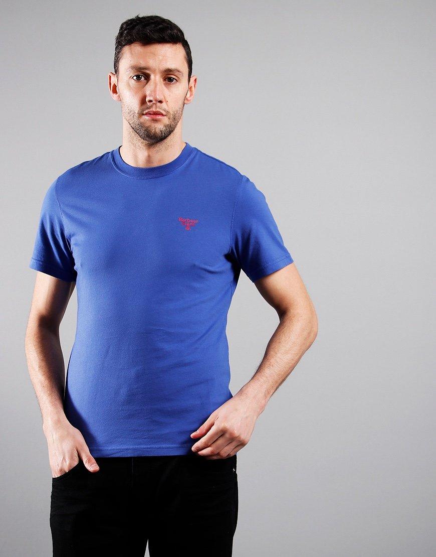 Barbour Beacon Small Logo T-Shirt Atlantic Blue