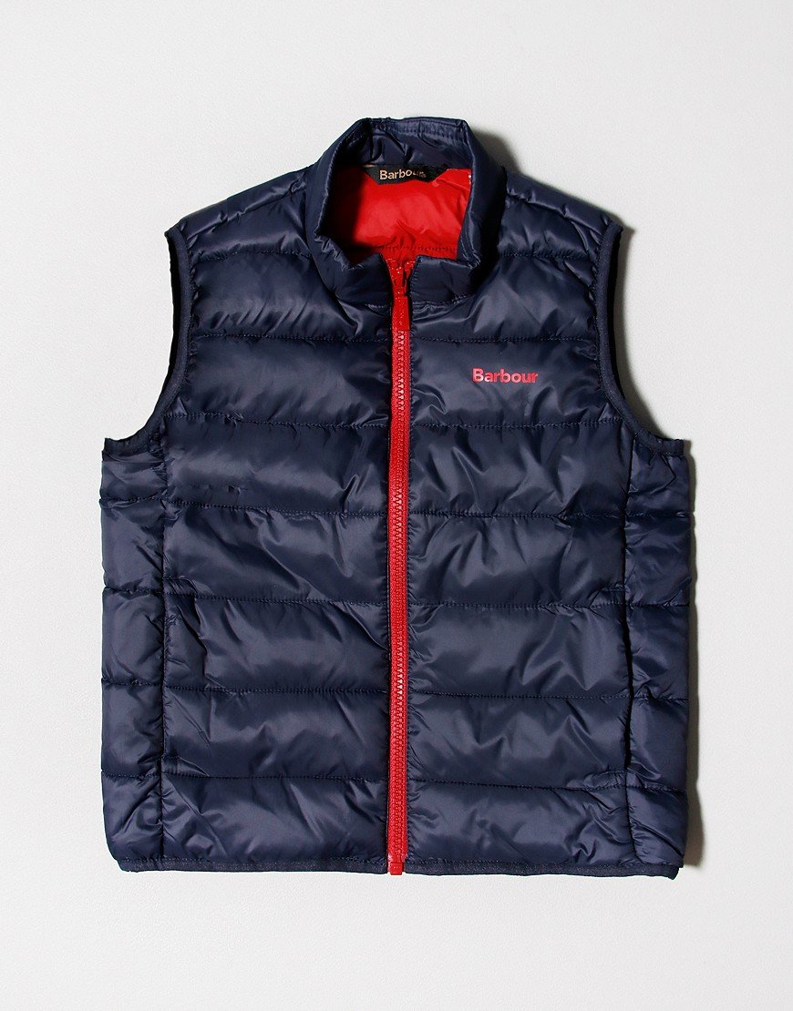 Barbour Children Trawl Gilet Navy