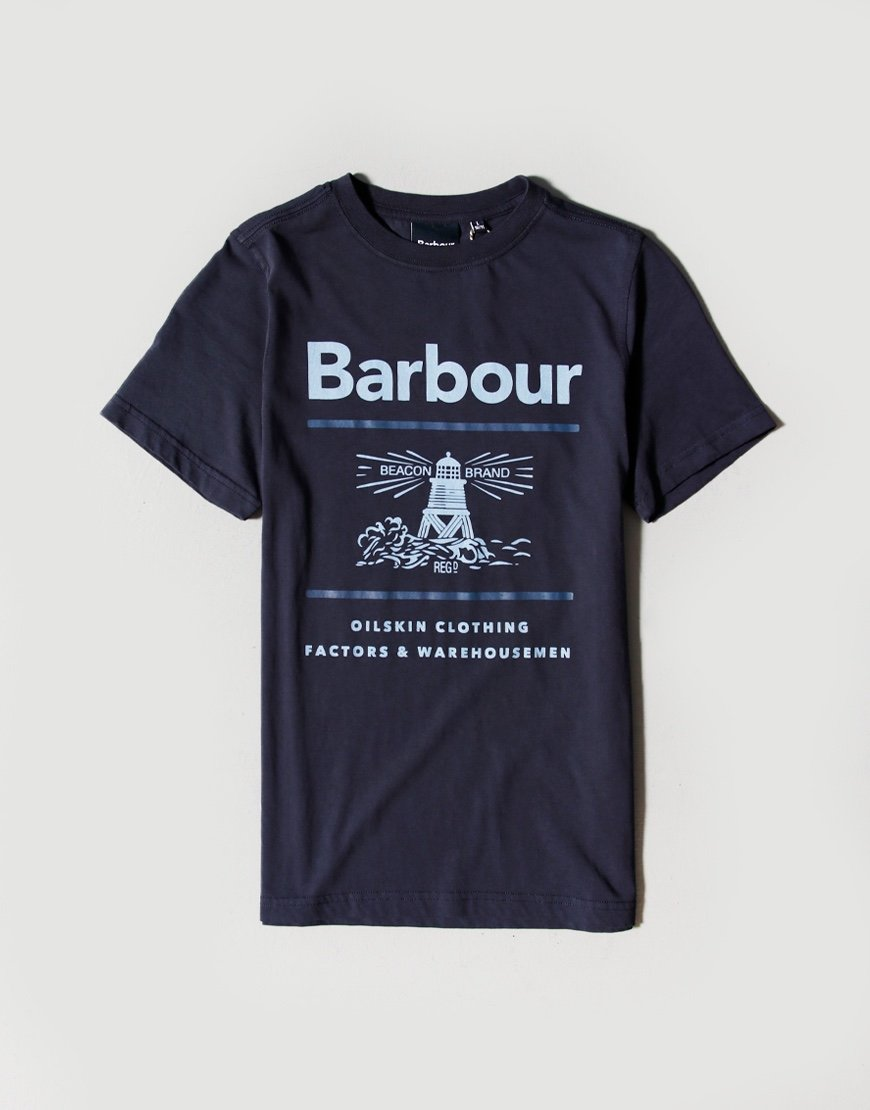 Barbour Children Reed T-shirt Navy
