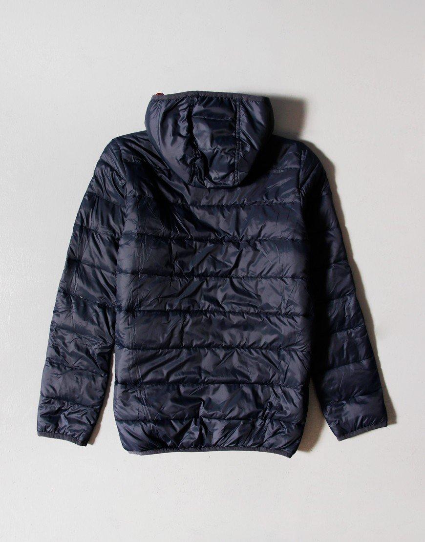 Barbour Children Trawl Quilt Jacket Navy