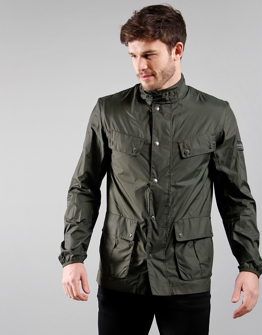 Barbour International Packable Duke Casual Jacket Sage