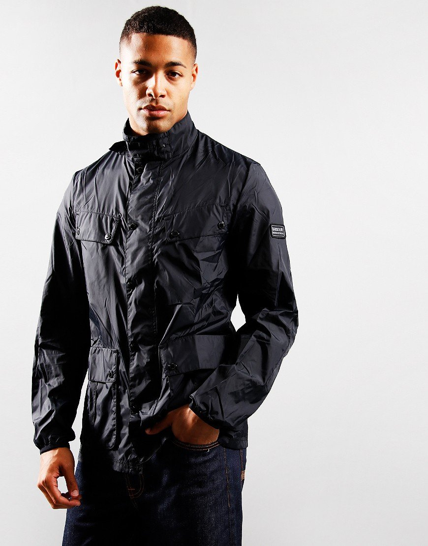 Barbour International Packable Duke Casual Jacket Black