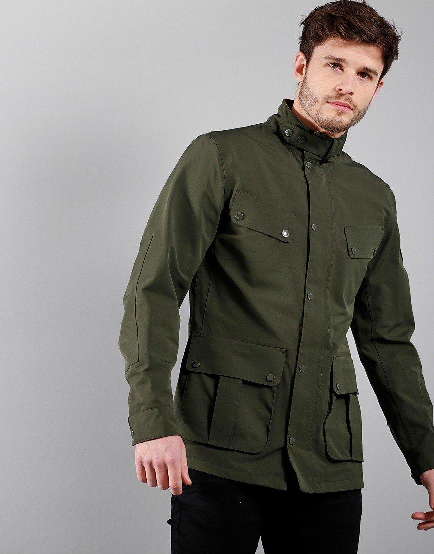Barbour International Summer Waterproof Duke Jacket Sage