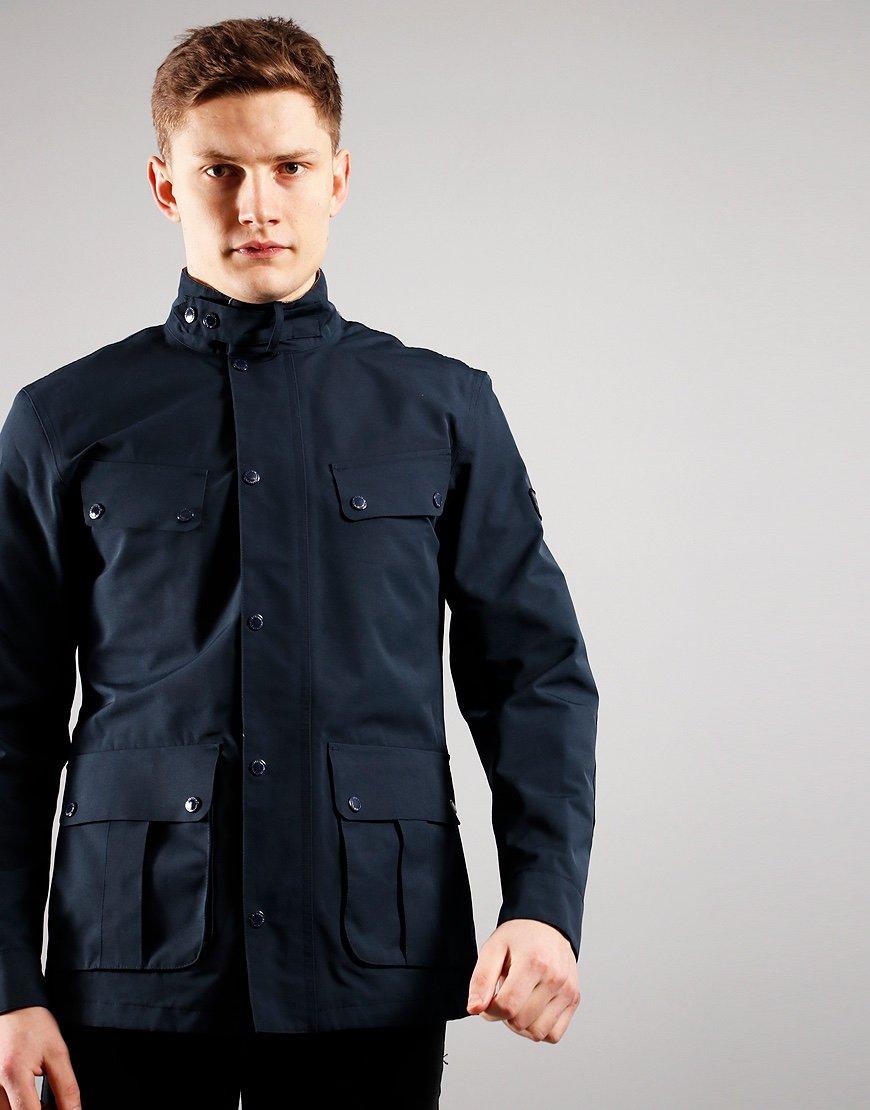 Barbour International Summer Waterproof Duke Jacket Navy